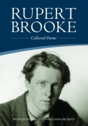Cover Rupert Brooke's Collected Poems with an introduction by Lorna Beckett